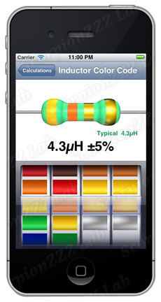 eTools axial inductor color decoding